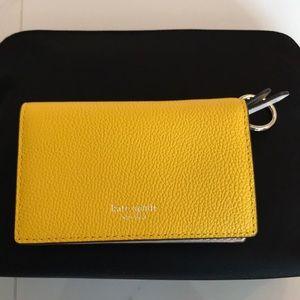 NWT Kate spade small key ring wallet